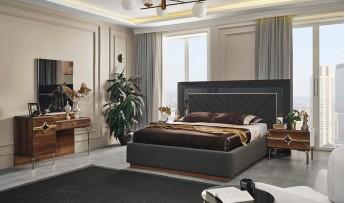inegöl mobilyasısı Deluxe Yatak Odası Takımı (Bazalı)