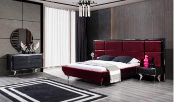 inegöl mobilyasısı Dolce Yatak Odası Takımı (Siyah)