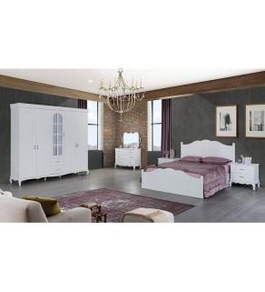 Ecrin Beyaz Yatak Odası Takımı