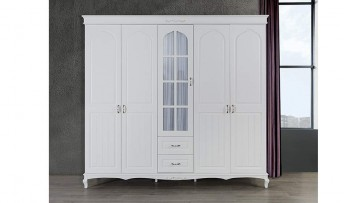 inegöl mobilyasısı Ecrin Beyaz Yatak Odası Takımı