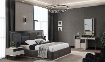 inegöl mobilyasısı Favori Yatak Odası Takımı (Bazalı)