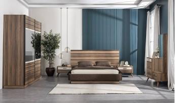 inegöl mobilyasısı Hitit Yatak Odası Takımı