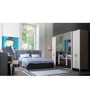 İnci Yatak Odası Takımı(Bazalı)