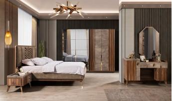 İpek Yatak Odası Takımı (Bazalı)