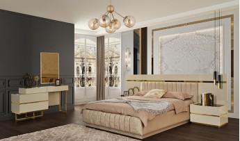 inegöl mobilyasısı Lima Yatak Odası Takımı (Bazalı)