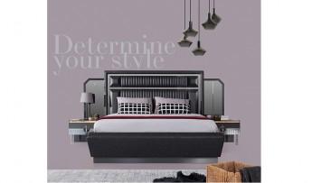 inegöl mobilyasısı Lara Yatak Odası Takımı (Siyah)