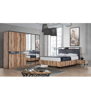 Linea Yatak Odası Takımı (Bazalı)