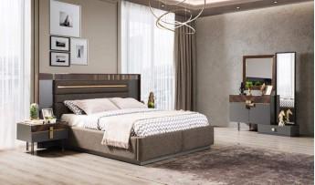 inegöl mobilyasısı Loca Yatak Odası Takımı (Bazalı)