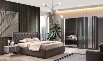 Lotus Yatak Odası Takımı (Bazalı)
