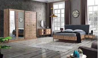 Lotus Yatak Odası Takımı(Bazalı)