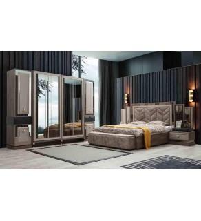 Lugano Yatak Odası Takımı (Bazalı)