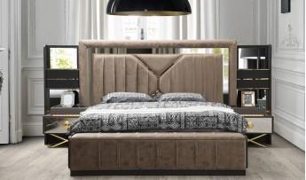 inegöl mobilyasısı Marina Yatak Odası Takımı (180'lik Bazalı)
