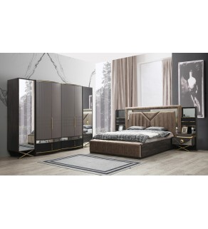 Marina Yatak Odası Takımı (180'lik Bazalı)