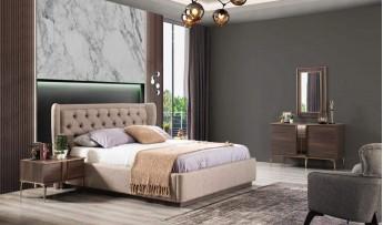 inegöl mobilyasısı Mokka Yatak Odası Takımı (Bazalı)