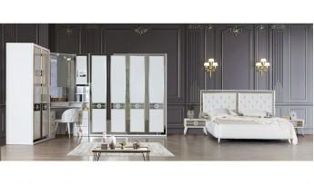inegöl mobilyasısı Papatya Yatak Odası Takımı (Bazalı)