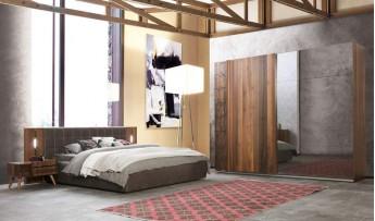 Pedra Yatak Odası Takımı (Bazalı)