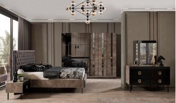 Polo Yatak Odası Takımı (siyah)