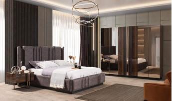 Prada Yatak Odası Takımı (Bazalı)