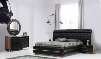 inegöl mobilyasısı Prada Yatak Odası Takımı (Bazalı)