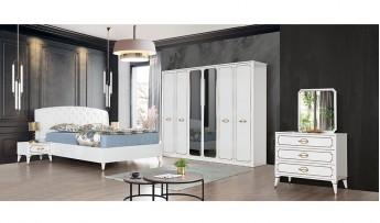 inegöl mobilyasısı Prestige Yatak Odası Takımı (Bazalı)