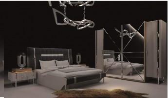 inegöl mobilyasısı Riyad Yatak Odası Takımı (Bazalı)