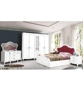Şah Yatak Odası Takımı (Beyaz)