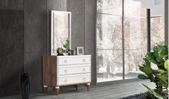 inegöl mobilyasısı Santino Yatak Odası Takımı (Bazalı)