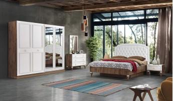 Santino Yatak Odası Takımı (Bazalı)