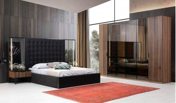 Zafira Yatak Odası Takımı (Bazalı)