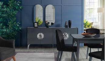 inegöl mobilyasısı Dark Yemek Odası Takımı