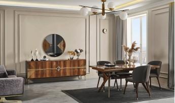 inegöl mobilyasısı Deluxe Yemek Odası Takımı