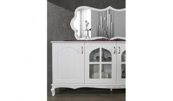 inegöl mobilyasısı Ecrin Beyaz Yemek Odası Takımı