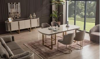 inegöl mobilyasısı Hilal Yemek Odası Takımı