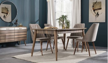 inegöl mobilyasısı Hitit Yemek Odası Takımı