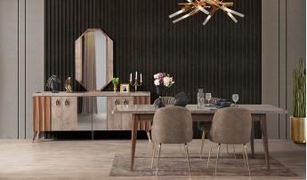inegöl mobilyasısı İpek Yemek Odası Takımı