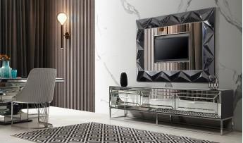 inegöl mobilyasısı Jaguar Duvar Ünitesi (220 cm)