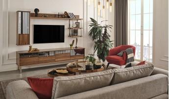 inegöl mobilyasısı Kapris Duvar Ünitesi