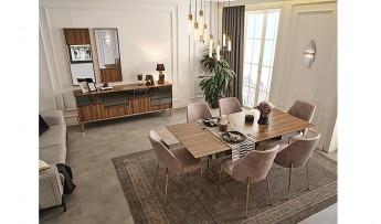 inegöl mobilyasısı Kapris Yemek Odası Takımı