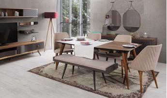 inegöl mobilyasısı Lıfe Yemek Odası Takımı