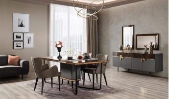 inegöl mobilyasısı Loca Yemek Odası Takımı