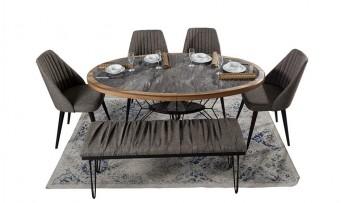 inegöl mobilyasısı Loft Yemek Odası Takımı