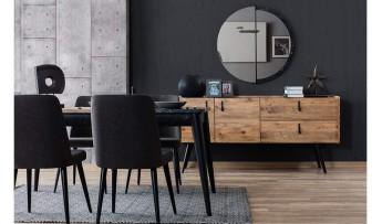 inegöl mobilyasısı Lotus Yemek Odası Takımı ( Tv'li )