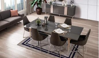 inegöl mobilyasısı Lotus Yemek Odası Takımı