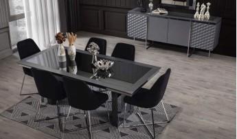 inegöl mobilyasısı Metalica Yemek Odası Takımı