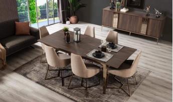inegöl mobilyasısı Mokka Yemek Odası Takımı
