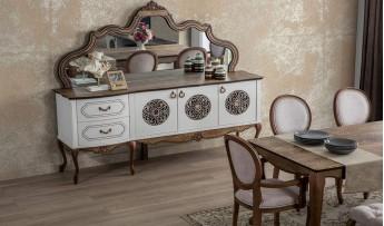 inegöl mobilyasısı Nirvana Yemek Odası Takımı