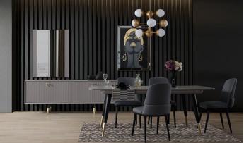 inegöl mobilyasısı Natura Yemek Odası Takımı