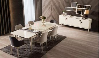 inegöl mobilyasısı Palmira Yemek Odası Takımı