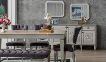 inegöl mobilyasısı Pedra Yemek Odası Takımı