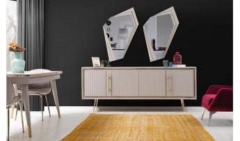 inegöl mobilyasısı Pera Yemek Odası Takımı ( Bej )